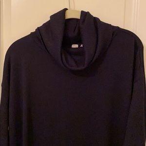 GAP Navy Cowlneck Sweater Dress